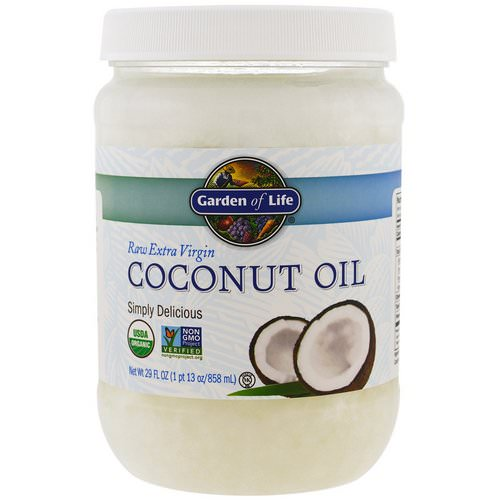 Garden of Life, Raw Extra Virgin Coconut Oil, 29 fl oz (858 ml) Review