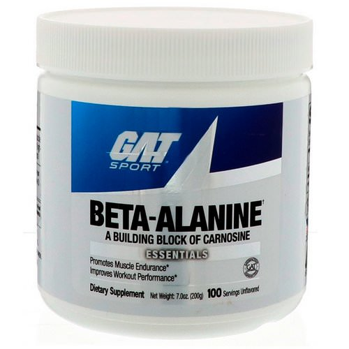 GAT, Beta Alanine, Unflavored, 7.0 oz (200 g) Review