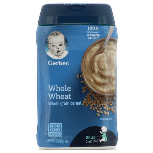 Gerber, Whole Wheat Cereal, 8 oz (227 g) Review