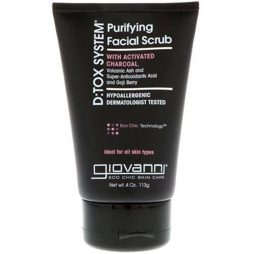 Giovanni, D:Tox System, Purifying Facial Scrub, 4 oz (113 g) Review