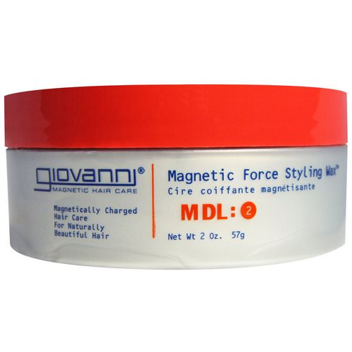 Giovanni, Magnetic Force Styling Wax, MDL: 2, 2 oz (57 g) Review