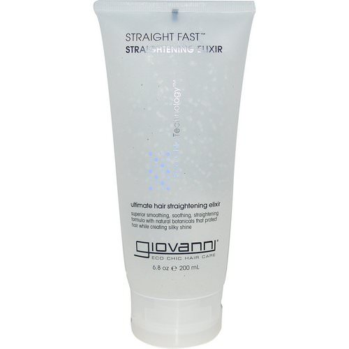 Giovanni, Straight Fast, Straightening Elixir, 6.8 oz (200 ml) Review