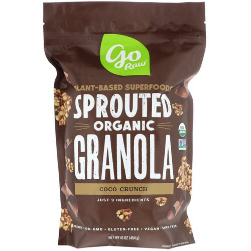 Go Raw, Organic Sprouted Granola, Coco Crunch, 16 oz (454 g) Review