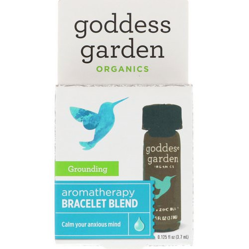 Goddess Garden, Organics, Grounding, Aromatherapy Bracelet Blend, 0.125 fl oz (3.7 ml) Review