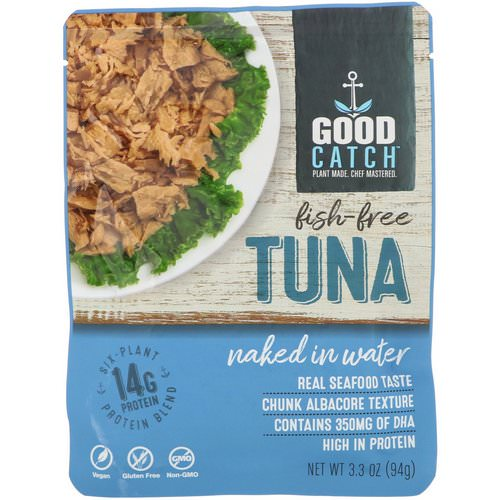Good Catch, Fish-Free Tuna, Naked In Water, 3.3 oz (94 g) Review