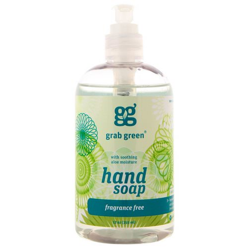 Grab Green, Hand Soap, Fragrance Free, 12 oz (355 ml) Review