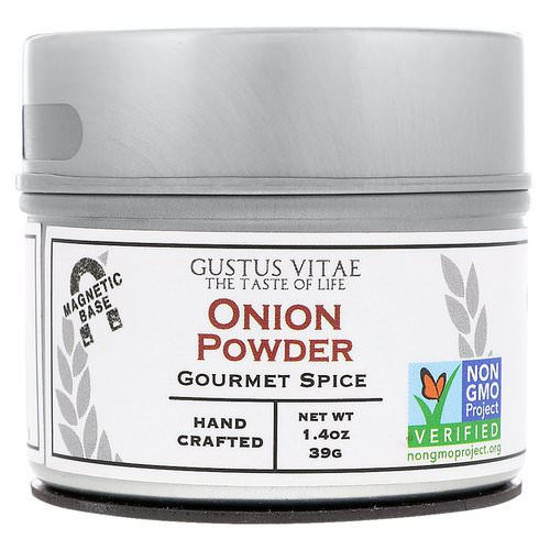 Gustus Vitae, Gourmet Spice, Onion Powder, 1.4 oz Review