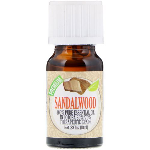 Healing Solutions, 100% Pure Essential Oil, Sandalwood, 0.33 fl oz (10 ml) Review