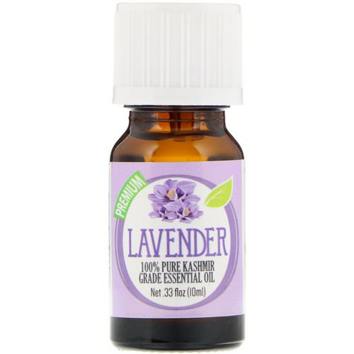 Healing Solutions, 100% Pure Kashmir Grade Essential Oil, Lavender, 0.33 fl oz (10 ml) Review
