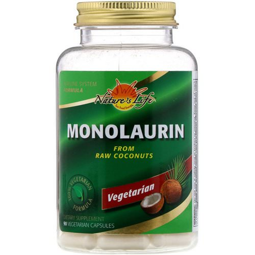 Nature's Life, Monolaurin, 90 Vegetarian Capsules Review