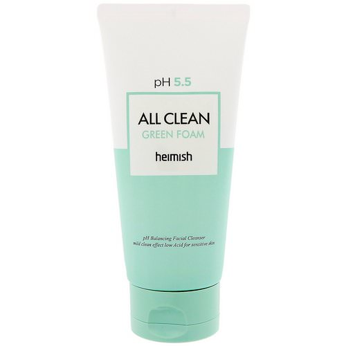 Heimish, All Clean Green Foam, Cleanser, 150 g Review