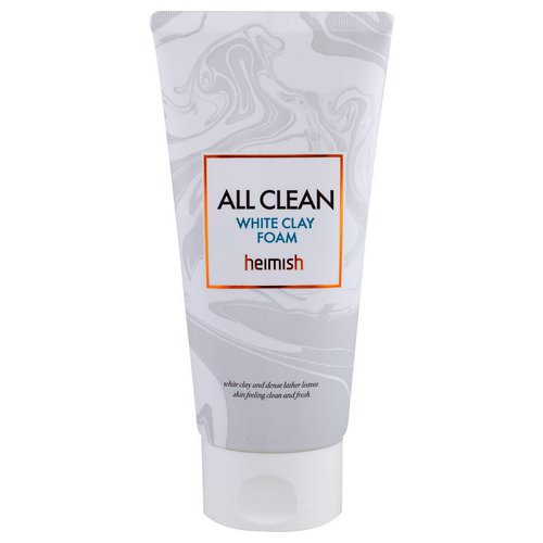 Heimish, All Clean, White Clay Foam, 150 g Review