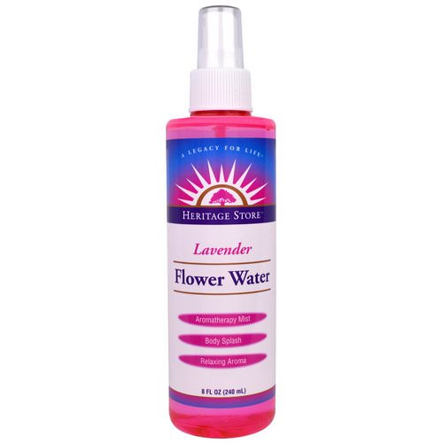 Heritage Store, Flower Water, Lavender, 8 fl oz (240 ml) Review
