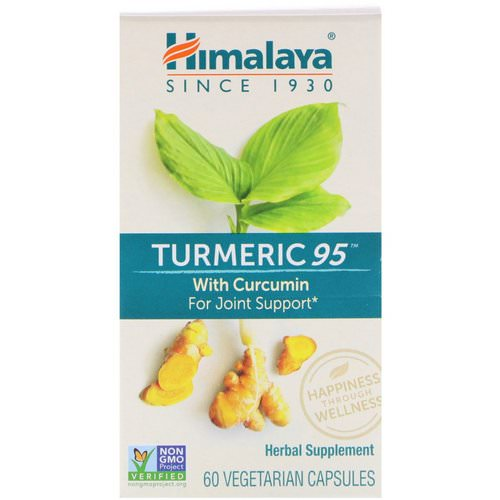 Himalaya, Turmeric 95 with Curcumin, 60 Vegetarian Capsules Review