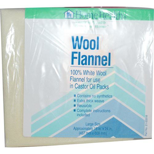 Home Health, Wool Flannel, Large, 1 Flannel Review