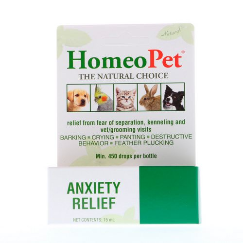 HomeoPet, Anxiety Relief, 15 ml Review