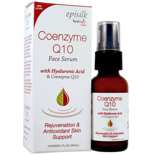 Hyalogic, Episilk, Coenzyme Q10 Face Serum, 1 fl oz (30 ml) Review