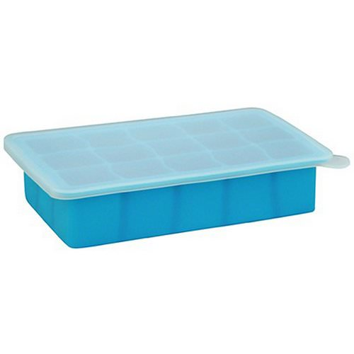 i play Inc, Green Sprouts, Fresh Baby Food Freezer Tray, Blue, 1 Tray, 15 Portions - 1 oz (28 ml) Each Review