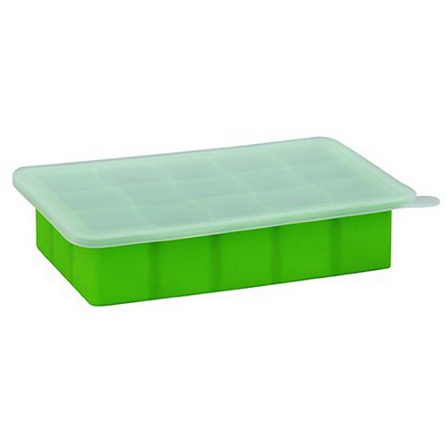 i play Inc, Green Sprouts, Fresh Baby Food Freezer Tray, Green, 1 Tray, 15 Portions - 1 oz (28 ml) Cubes Each Review