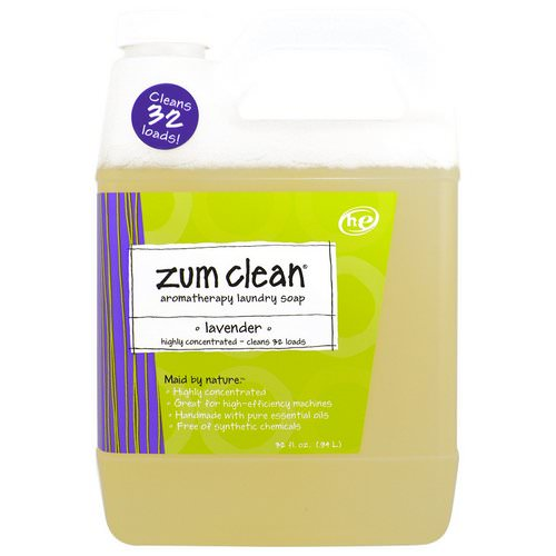 Indigo Wild, Zum Clean, Aromatherapy Laundry Soap, Lavender, 32 fl oz (.94 L) Review