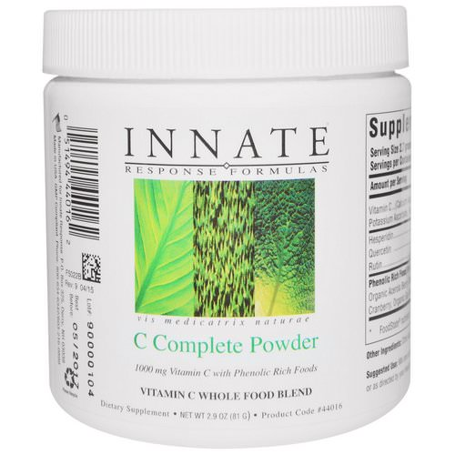 Innate Response Formulas, C-Complete Powder, 2.9 z (81 g) Review