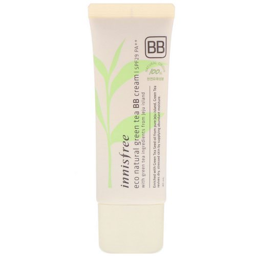 Innisfree, Eco Natural Green Tea BB Cream, SPF 29 PA++, 40 ml Review
