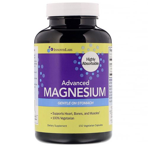 InnovixLabs, Advanced Magnesium, 150 Vegetarian Capsules Review