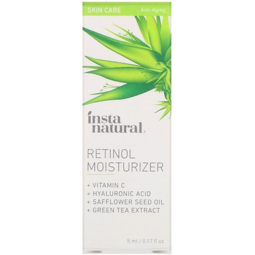 InstaNatural, Retinol Moisturizer, Anti-Aging, 0.17 fl oz (5 ml) Review