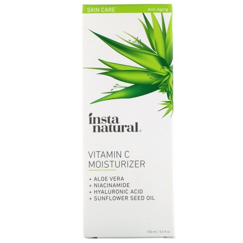 InstaNatural, Vitamin C Moisturizer, Anti-Aging, 3.4 fl oz (100 ml) Review