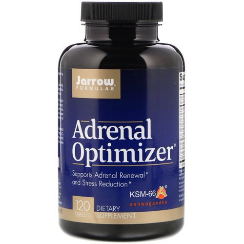 Jarrow Formulas, Adrenal Optimizer, 120 Tablets Review
