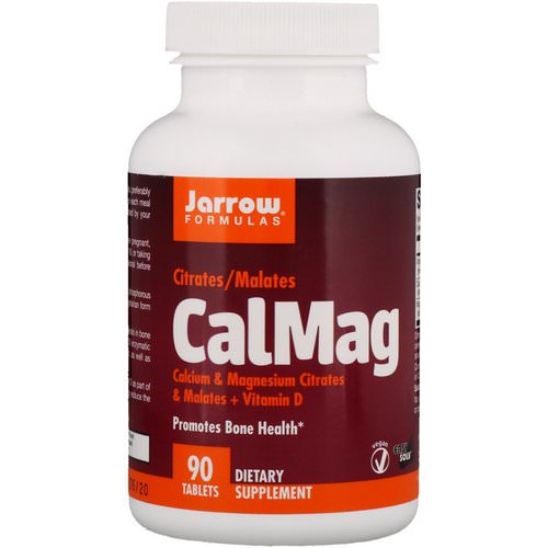 Jarrow Formulas, CalMag, Citrates/Malates, 90 Tablets Review