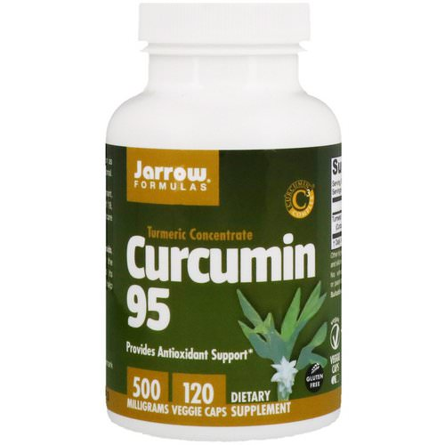 Jarrow Formulas, Curcumin 95, 500 mg, 120 Veggie Caps Review