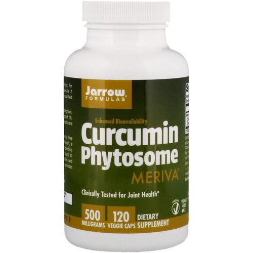 Jarrow Formulas, Curcumin Phytosome, Meriva, 500 mg, 120 Veggie Caps Review