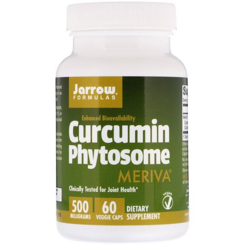Jarrow Formulas, Curcumin Phytosome, Meriva, 500 mg, 60 Veggie Caps Review
