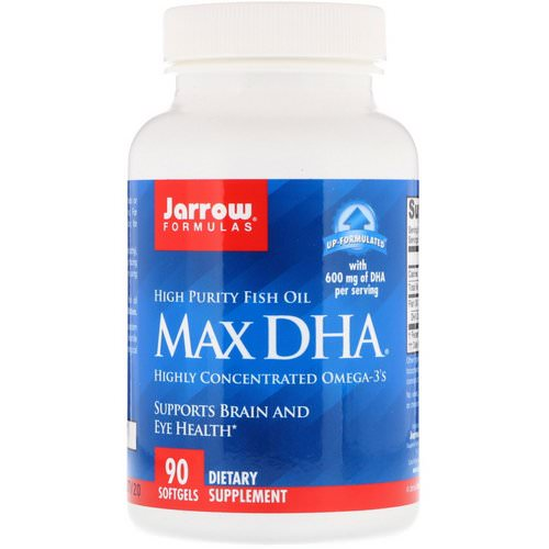 Jarrow Formulas, Max DHA, 90 Softgels Review