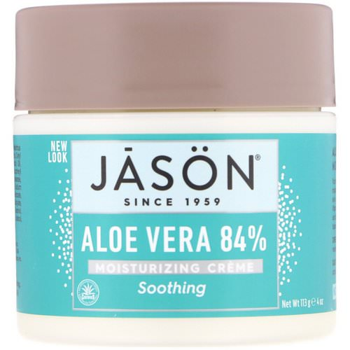 Jason Natural, Aloe Vera 84% Moisturizing Creme, Soothing, 4 oz (113 g) Review