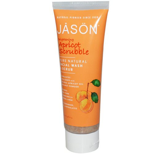 Jason Natural, Brightening Apricot Scrubble, Facial Wash & Scrub, 4 oz (113 g) Review