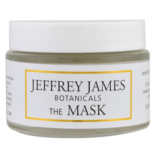 Jeffrey James Botanicals, The Mask, Whipped Raspberry Mud Mask, 2.0 oz (59 ml) Review