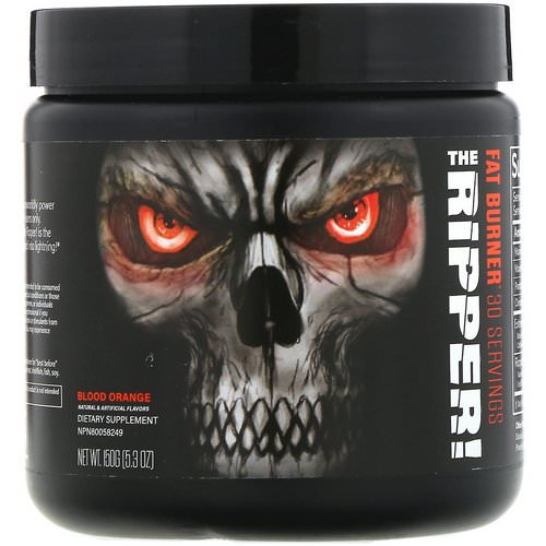 JNX Sports, The Ripper, Fat Burner, Blood Orange, 5.3 oz (150 g) Review