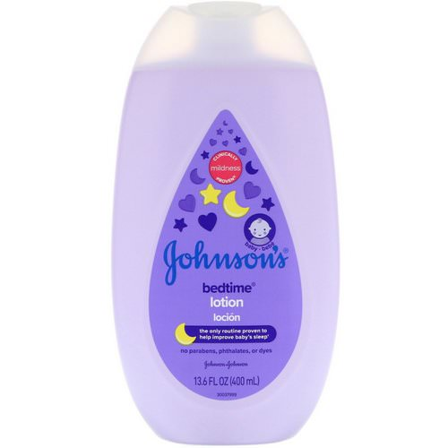 Johnson & Johnson, Bedtime, Lotion, 13.6 fl oz (400 ml) Review