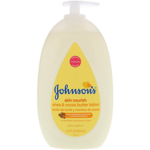 Johnson & Johnson, Skin Nourish, Shea & Cocoa Butter Lotion, 16.9 fl oz (500 ml) Review