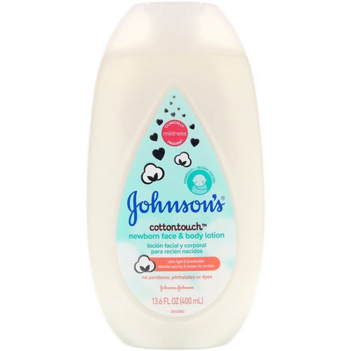 Johnson & Johnson, Cottontouch, Newborn Face & Body Lotion, 13.6 fl oz (400 ml) Review