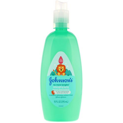 Johnson & Johnson, No More Tangles, Detangling Spray, 10 fl oz (295 ml) Review