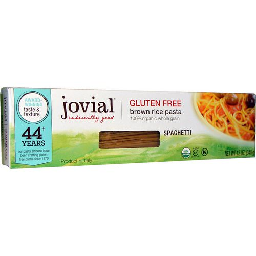 Jovial, Brown Rice Pasta, Spaghetti, 12 oz (340 g) Review