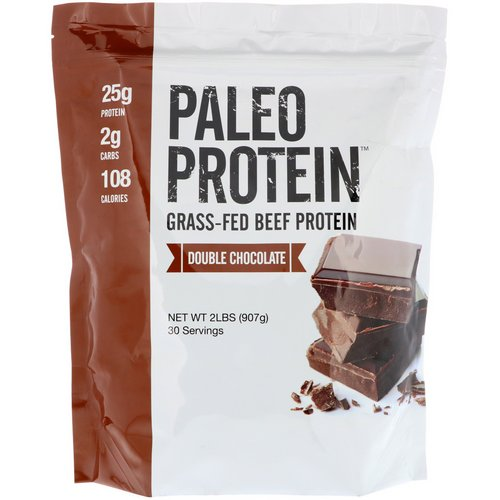 Julian Bakery, Paleo Protein, Grass-Fed Beef Protein, Double Chocolate, 2 lbs (907 g) Review