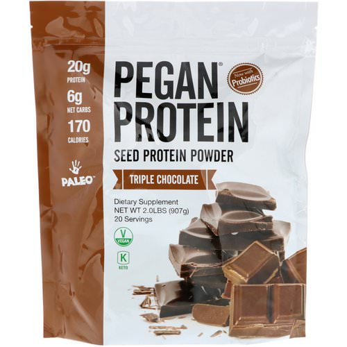 Julian Bakery, Pegan Protein, Seed Protein Powder, Triple Chocolate, 2 lbs (907 g) Review