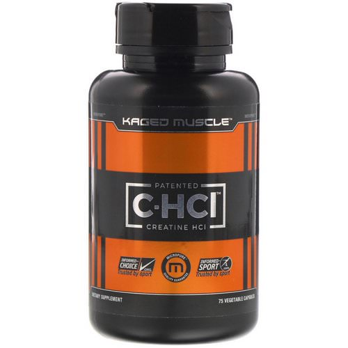 Kaged Muscle, Patented C-HCI, 75 Vegetarian Capsules Review