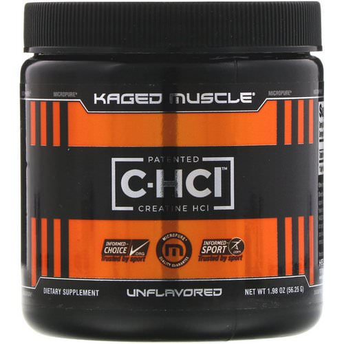 Kaged Muscle, Patented C-HCI, Creatine HCI, Unflavored, 1.98 oz (56.25 g) Review