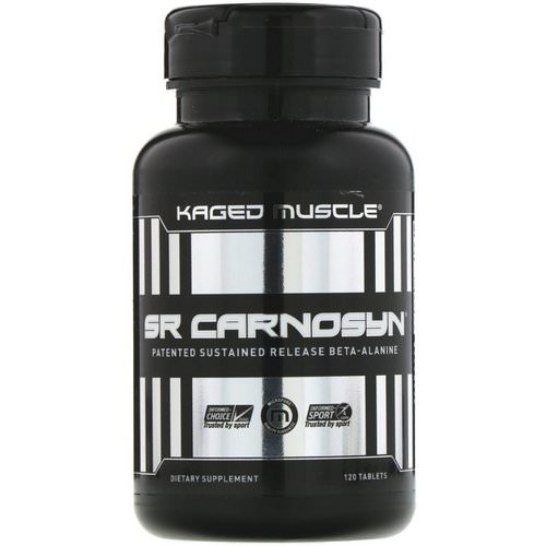Kaged Muscle, SR Carnosyn, 120 Tablets Review