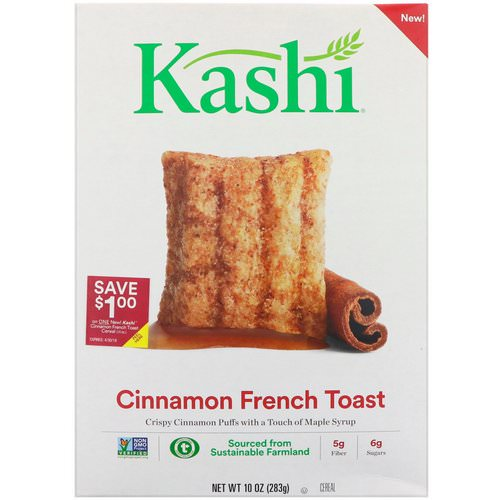Kashi, Cinnamon French Toast Cereal, 10 oz (283 g) Review